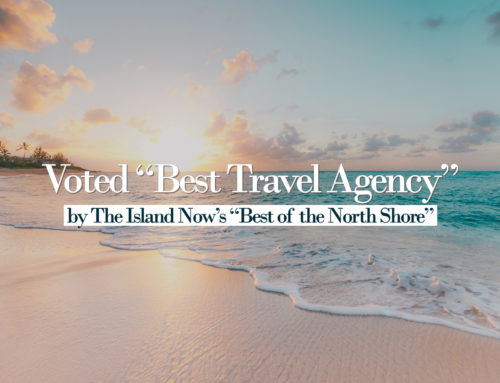 "Voted ""Best Travel Agency"""