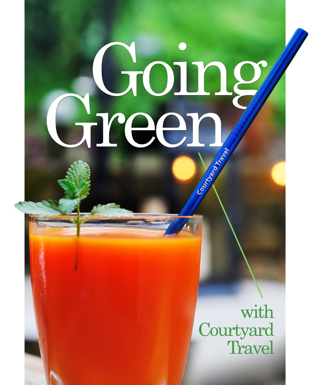 Going Green at Courtyard Travel