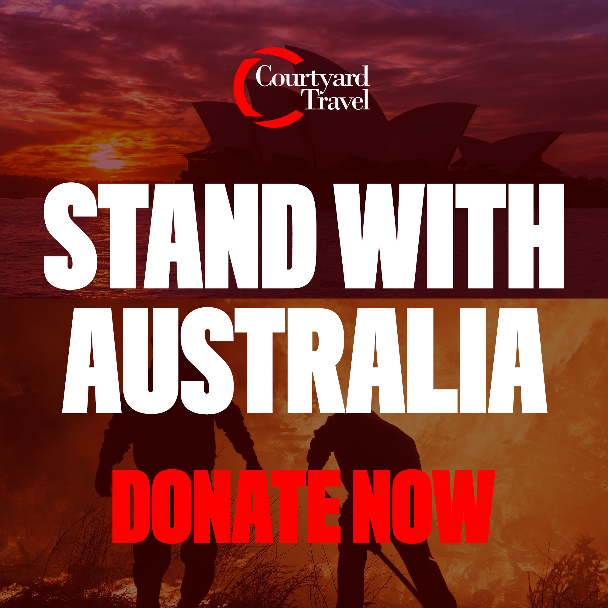 Stand With Australia, Donate Now